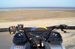 Sea from ATV