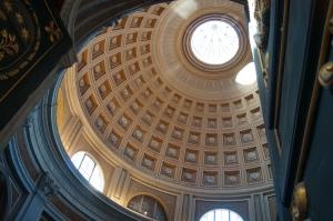 Sala Rotonda ceiling