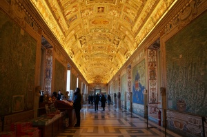 Vatican Museum - Gallery of Maps
